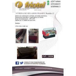 VITRINA DE HELADOS FRAMEC...